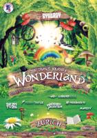 Party Flyer SYNERGY 'Wonderland' Love Mobile w/ Liquid Soul 11 Aug '18, 13:00