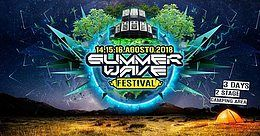Party Flyer Summer Wave Festival 2018 14 Aug '18, 10:00