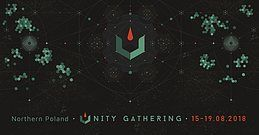 Party Flyer Unity Gathering 20018 - Where Nature meets Technology 15 Aug '18, 19:00