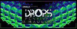 Party Flyer DROPS festival 17 Aug '18, 22:00