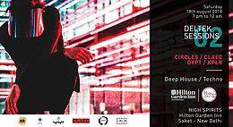 Party Flyer DelTek Sessions#2 18 Aug '18, 19:30