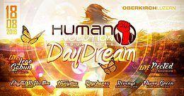 Party Flyer Human Revolution Daydream Vol.4 18 Aug '18, 11:00