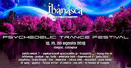 Party Flyer IBANASCA PSY FESTIVAL 18 Aug '18, 14:00