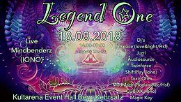 Party Flyer Legend One 18 Aug '18, 14:00