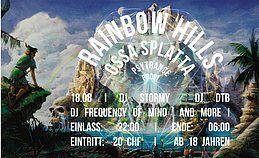 Party Flyer Rainbow Hills / ossa splatta 18 Aug '18, 22:00