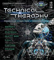 Party Flyer Technical Theraphy 18 Aug '18, 22:00