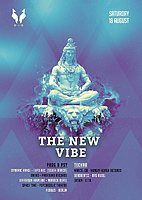 Party Flyer The New VIBE 27 |5€ bis 0Uhr 18 Aug '18, 23:00