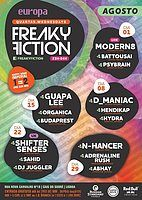 Party Flyer FREAKY FICTION 22 Aug '18, 23:00