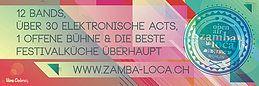 Party Flyer Open Air Zamba Loca 23 Aug '18, 17:00