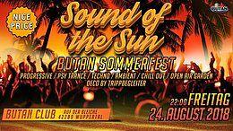 Sound of the Sun / Butan Sommer Fest 24 Aug '18, 22:00