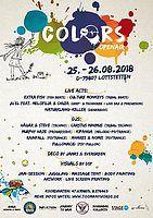 Party Flyer Colors 25 Aug '18, 10:00