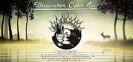 Party Flyer Elbrauschen Open Air 2018 25 Aug '18, 12:00