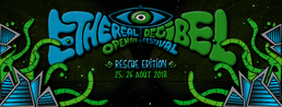 Party Flyer Ethereal Decibel Festival 2018 ● Rescue Edition ● Open Air 25 Aug '18, 18:00
