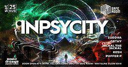 Party Flyer Inpsycity 25 Aug '18, 21:30