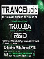 Party Flyer TRANCElucid 25 Aug '18, 23:00