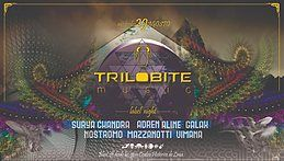 Party Flyer TRILOBITE MUSIC - label night 29 Aug '18, 22:00