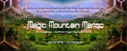 Party Flyer Magic Mountain Maroc 30 Aug '18, 12:00
