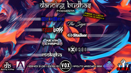 Party Flyer Dancing Budhas 31 Aug '18, 23:30