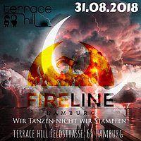 Party Flyer Fire-Line Hamburg Wir Tanzen nicht wir Stampfen.. 31 Aug '18, 23:00