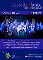 Party Flyer Ecstatic Dance ◈ Lima Peru 1 Sep '18, 22:00