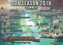 Party Flyer Goa Xperience - The Tribe 1 Sep '18, 23:00