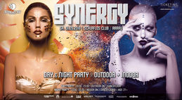Party Flyer SYNERGY 'Day & Night Party' 1 Sep '18, 16:00