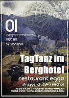 Party Flyer TagTanz im Berghotel 1 Sep '18, 10:00