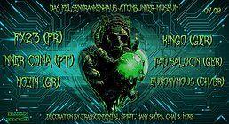 Party Flyer Das Felsenkrankenhaus Atombunker Museum 7 Sep '18, 22:00