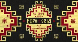 Party Flyer Euphoria #5 w/ Yestermorrow (Iono Music) 7 Sep '18, 23:30
