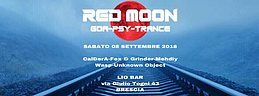 Party Flyer 08/09 Red Moon - Goa Night | Lio Bar 8 Sep '18, 22:00