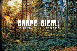Party Flyer CARPE DIEM ∆∆ Open Air ∆∆ 8 Sep '18, 18:00