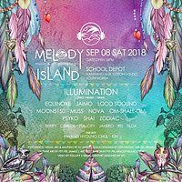 Party Flyer Melody Island Music & Art Gathering - Autumn 8 Sep '18, 15:00