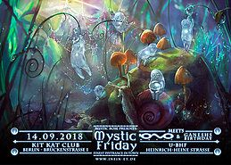 Party Flyer Mystic Friday meets IONO Music & Ganesh's Birthday... 14 Sep '18, 23:00