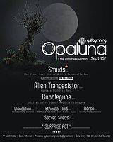 Party Flyer Opaluna l Gylfaginning Records 1 Year Anniversary Gathering: 2018 15 Sep '18, 22:00