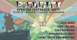 Party Flyer Planatek 5 - Open-air 15 Sep '18, 18:00