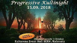 Party Flyer Progressive KultiNight (freier Eintritt) BERN 15 Sep '18, 22:00