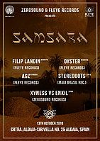 Party Flyer SAMSARA 13 Oct '18, 23:30