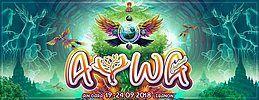 Party Flyer AYWA FESTIVAL 19 Sep '18, 17:00