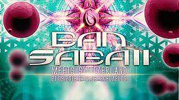 Party Flyer Ban Sabaii Meets Switzerland 21 Sep '18, 22:00