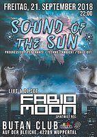 Party Flyer Sound of the Sun / Goa Season Opening / Fabio & Moon Live! 21 Sep '18, 22:00