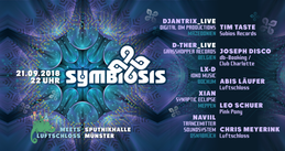 Party Flyer Symbiosis meets Luftschloss 21 Sep '18, 22:00