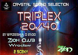 Party Flyer Triplex 20/40 21 Sep '18, 21:30