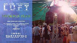 Party Flyer An der frischen Luft X3 / Insel Gartenfeld 22 Sep '18, 12:00