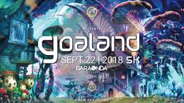 Party Flyer GOALAND 22 Sep '18, 18:00