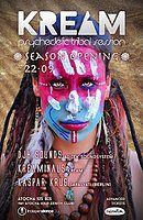 Party Flyer KREAM Season Opening 22 Sep '18, 23:30