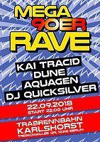 Party Flyer Mega 90er Rave 22 Sep '18, 22:00