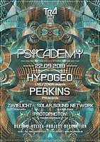 Party Flyer Psycademy 22 Sep '18, 23:00