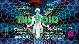 Party Flyer The Void: Psytrance in Kortrijk (w/ Firaga,...) 22 Sep '18, 22:00