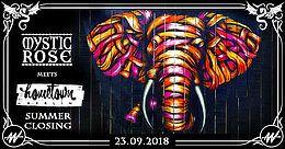 Party Flyer Mystic Rose meets Hometown Berlin 23 Sep '18, 15:00