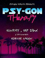 Party Flyer Psy-Gon Therapy 23 Sep '18, 18:00